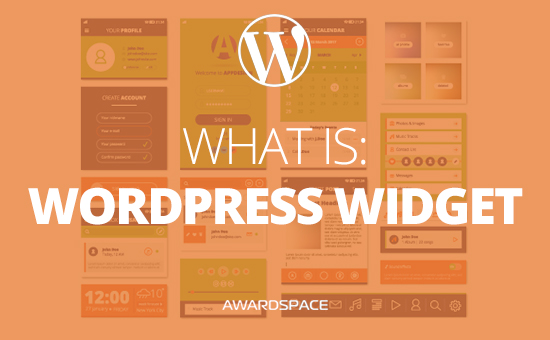 What is Widget in WordPress